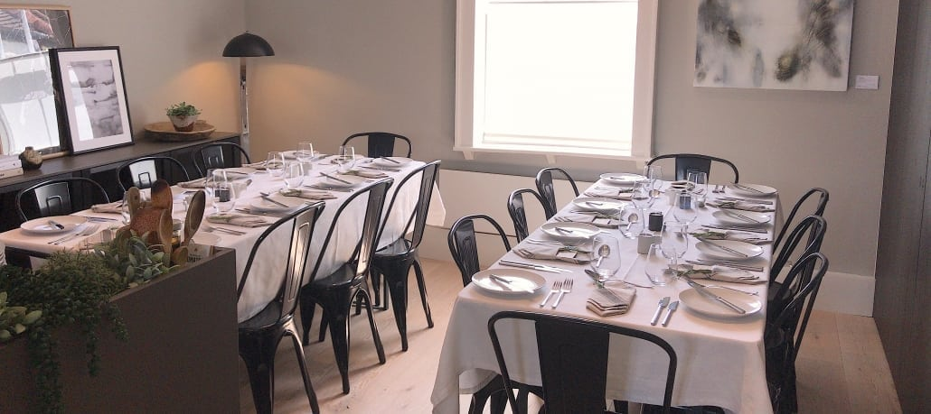 SieMatic Chichester supper club tables