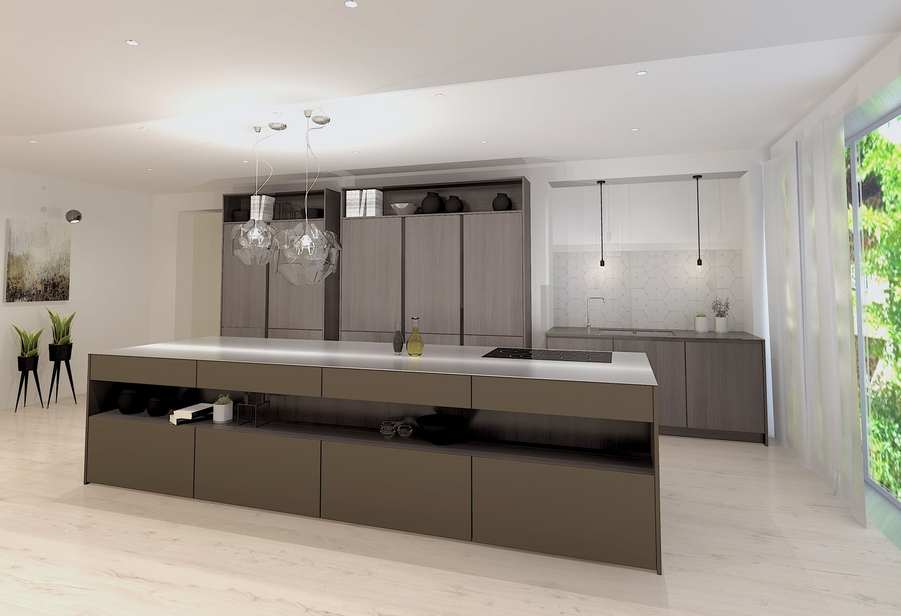 CGI SieMatic Chichester kitchen Barbados