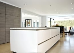 SieMatic cream handleless kitchen