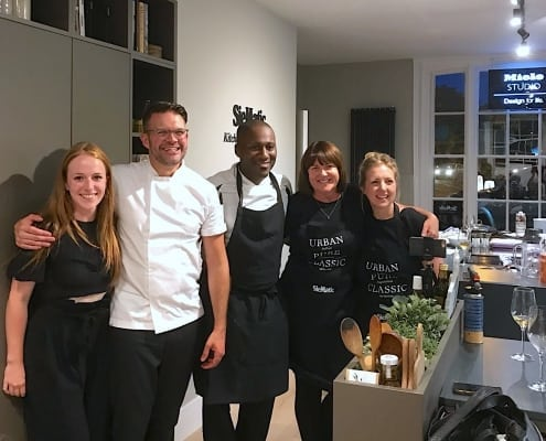 Kenny Tutt at SieMatic Chichester supper club