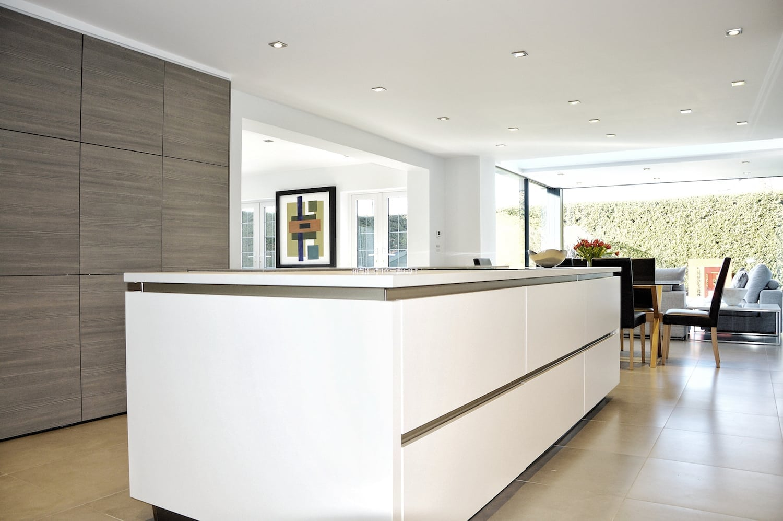 Handleless SieMatic kitchen