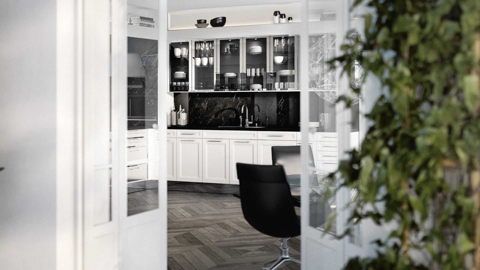 Image of minimal SieMatic Classic kitchen