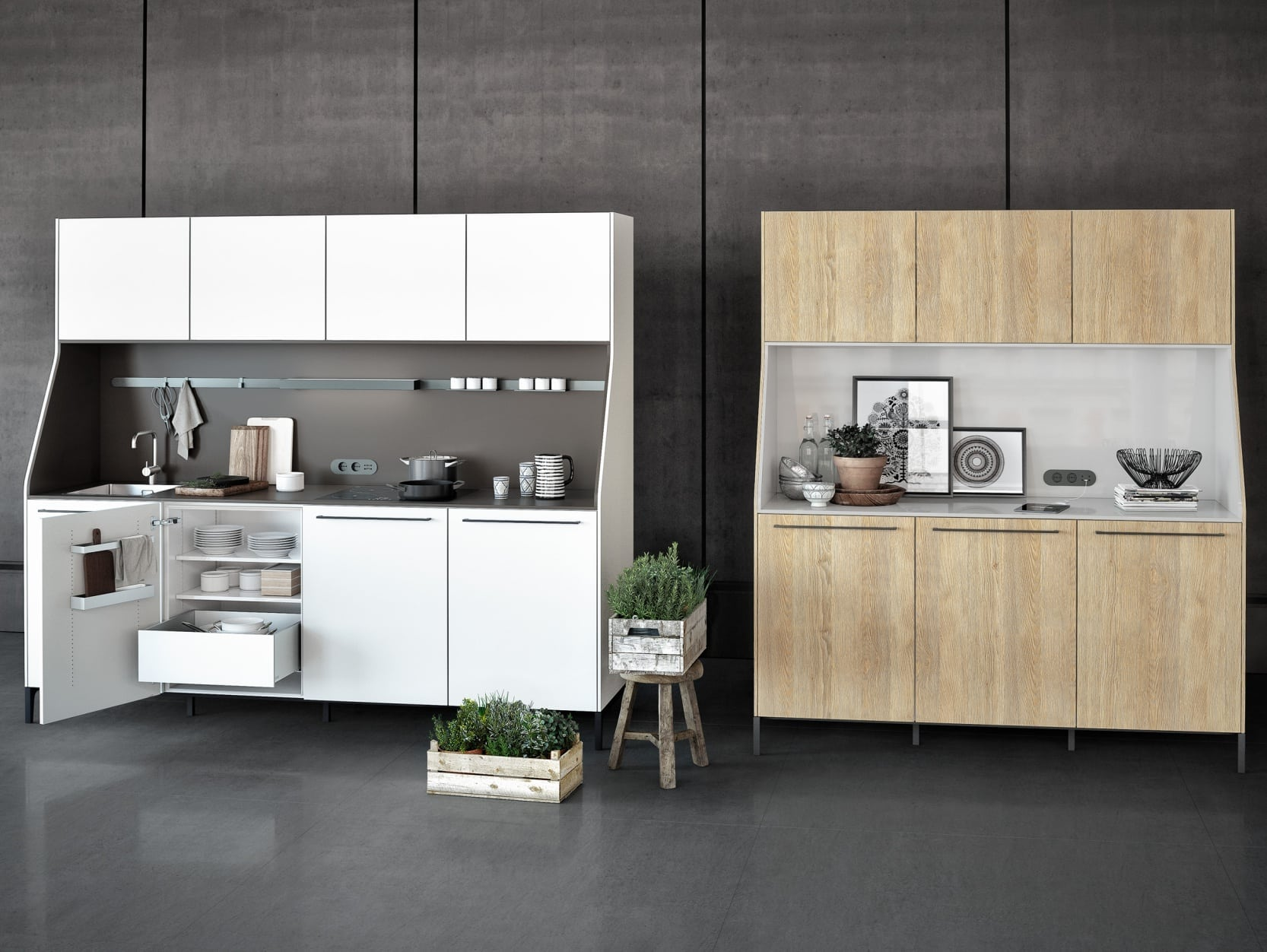 Siematic urban kitchen sideboard