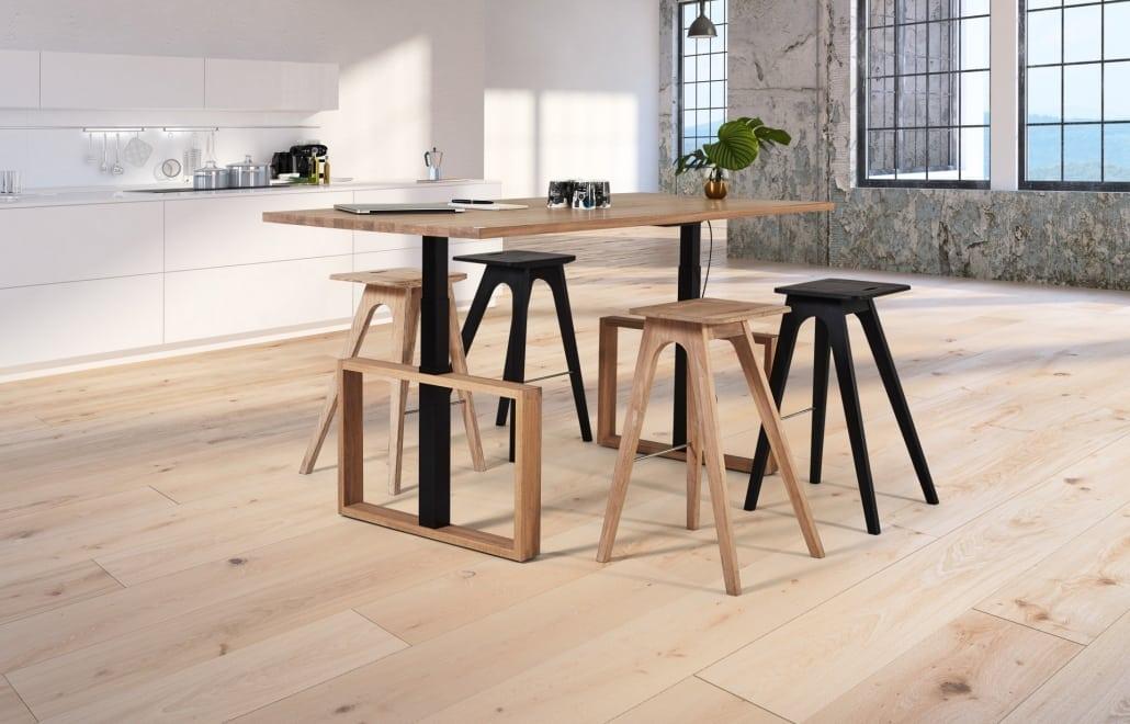 Image of Spekva height adjustable table desk