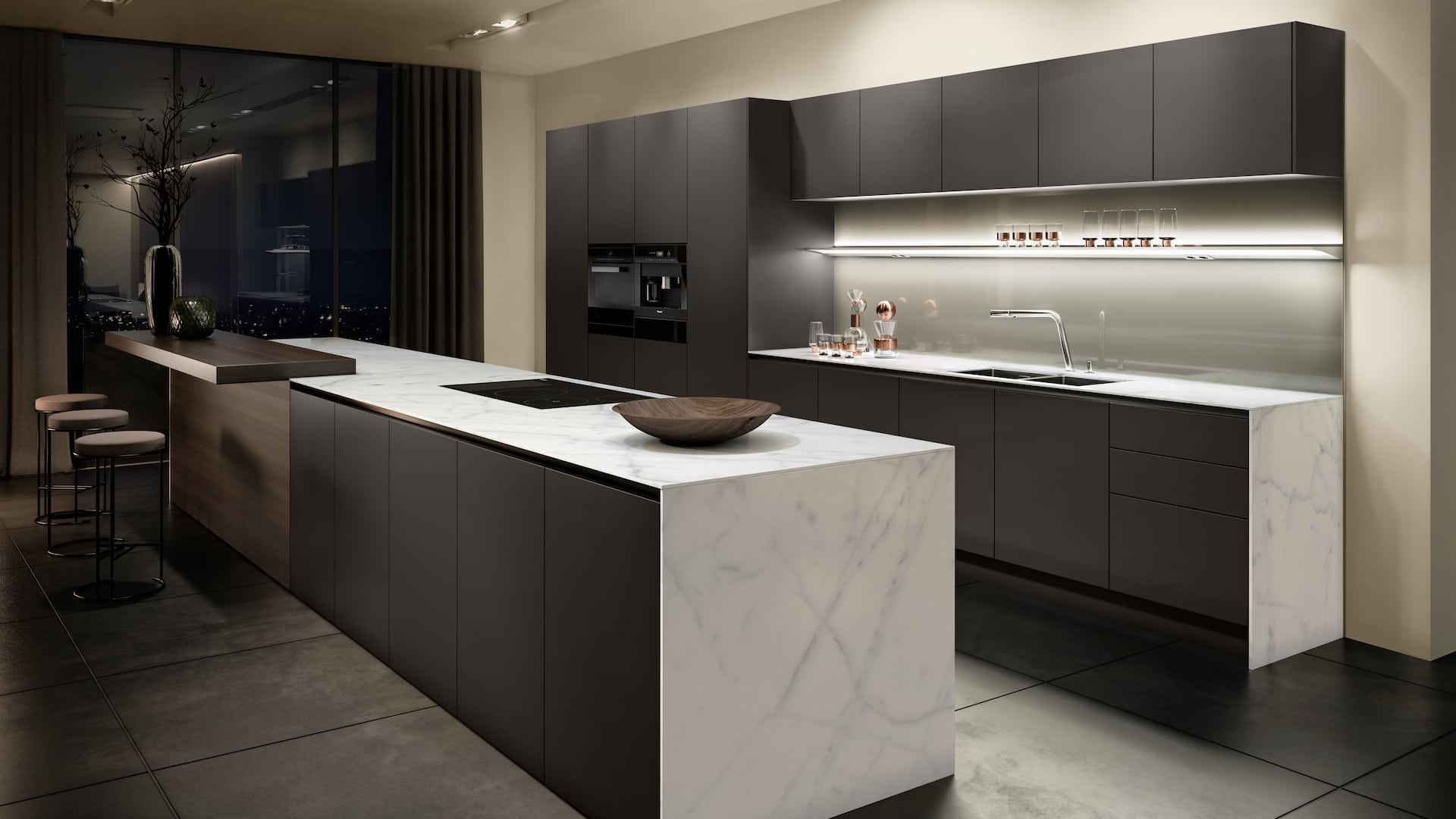 SieMatic Pure kitchen black