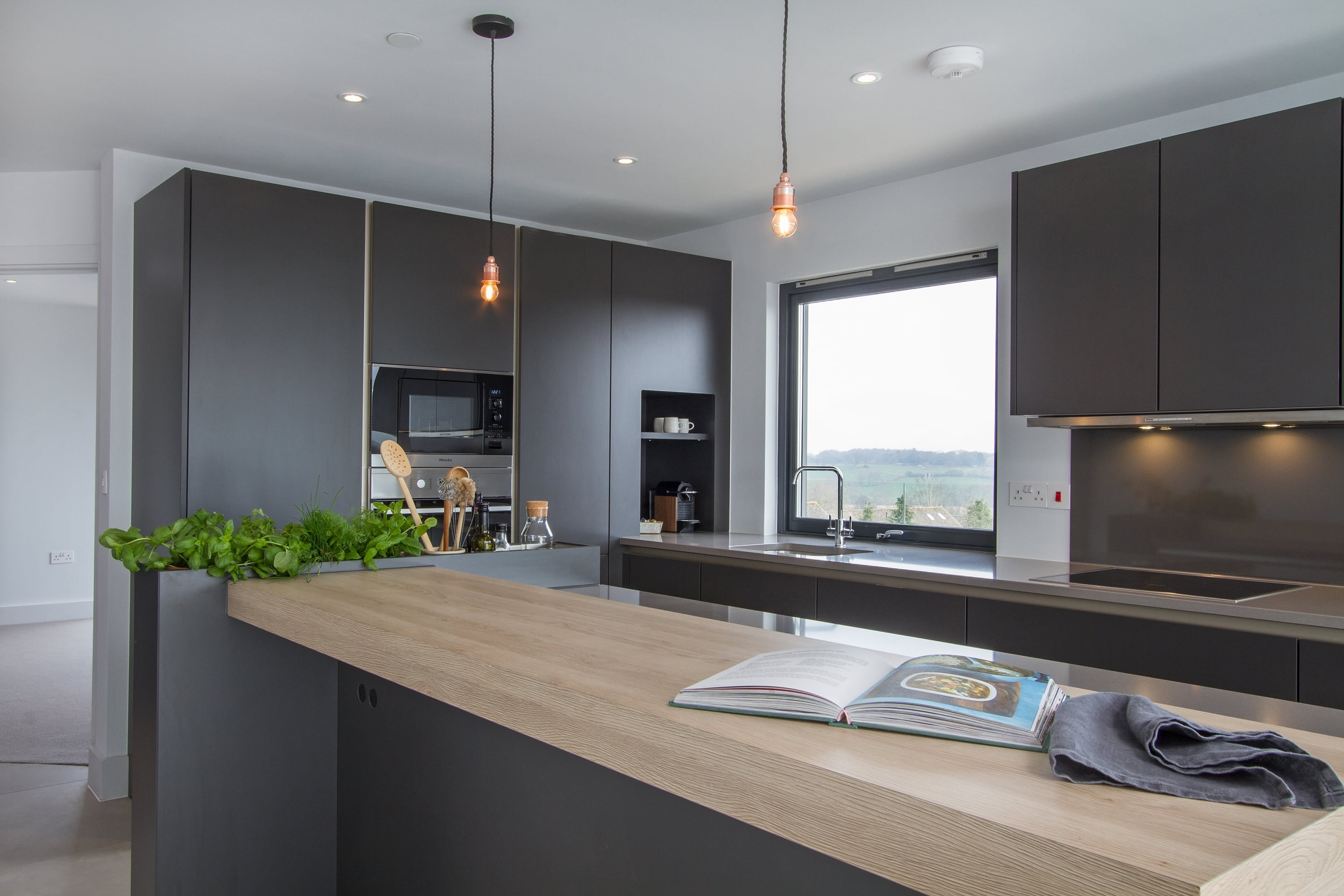 SieMatic kitchen the furniture depository Lymington, Wilson Designer Homes