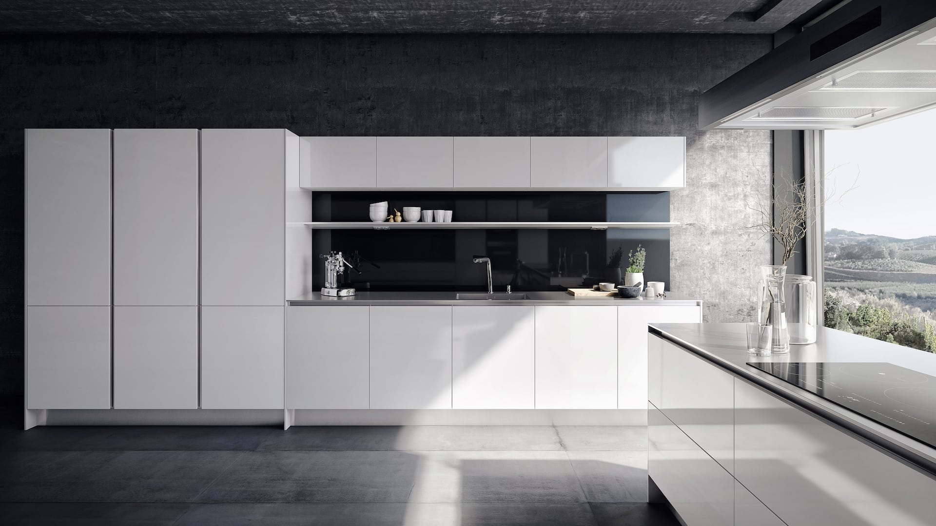 SieMatic PURE white kitchen