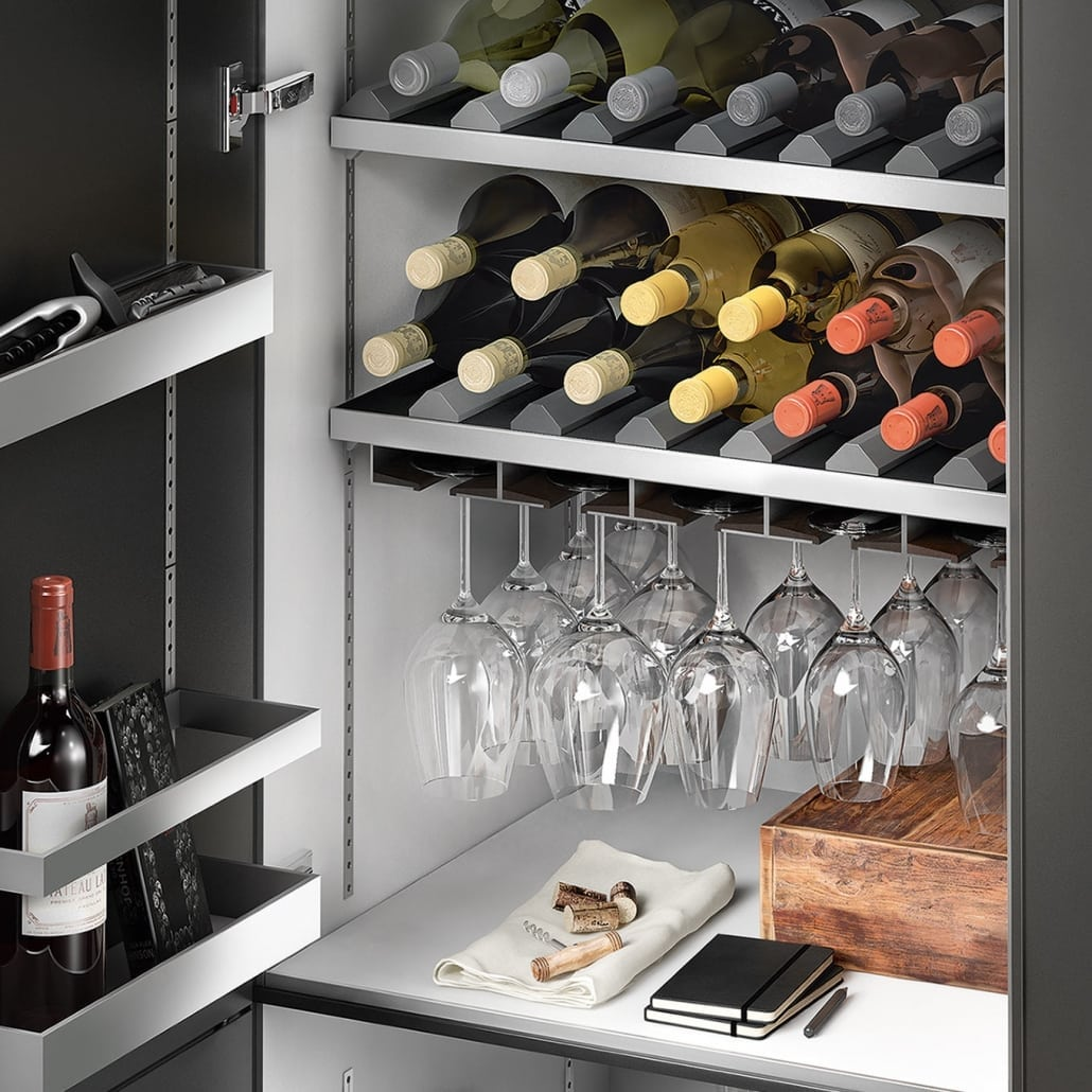 SieMatic Kitchen storage solutions